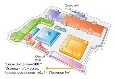схема Экспоцентра иллюстрация – Новости студии дизайна «Aedus Design»