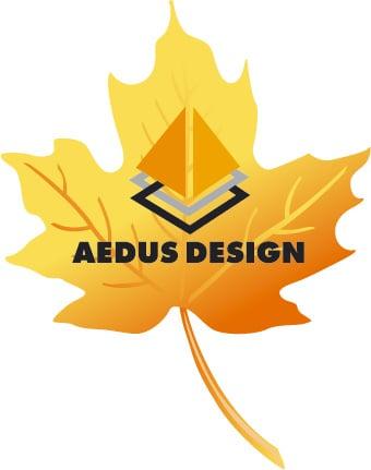 рисунок осеннего листа – Новости студии дизайна «Aedus Design»