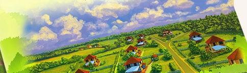 иллюстрация для коттеджного поселка