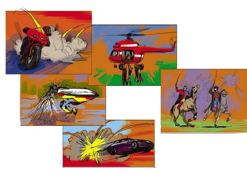 комиксы каскадеры – Новости студии дизайна «Aedus Design»