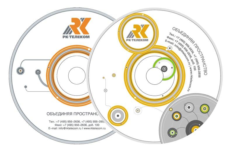 Изображение: дизайн CD диска