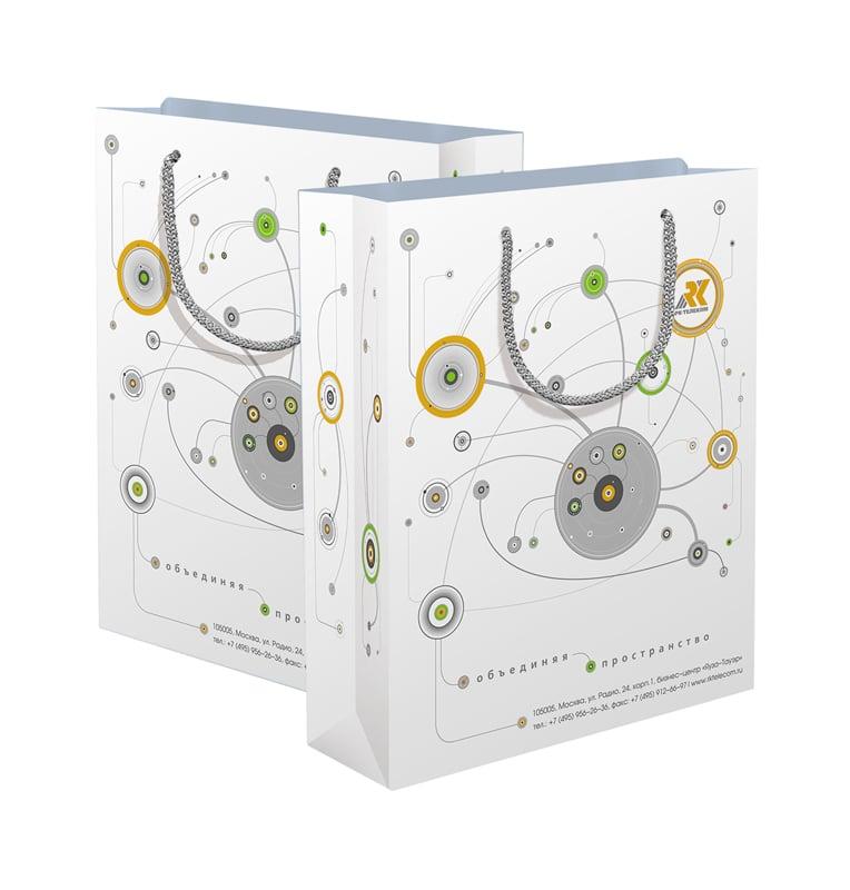 Изображение: дизайн пакета IT компании