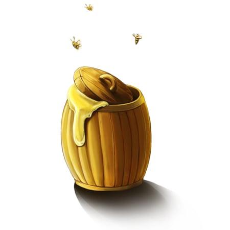 Изображение: иконка мед