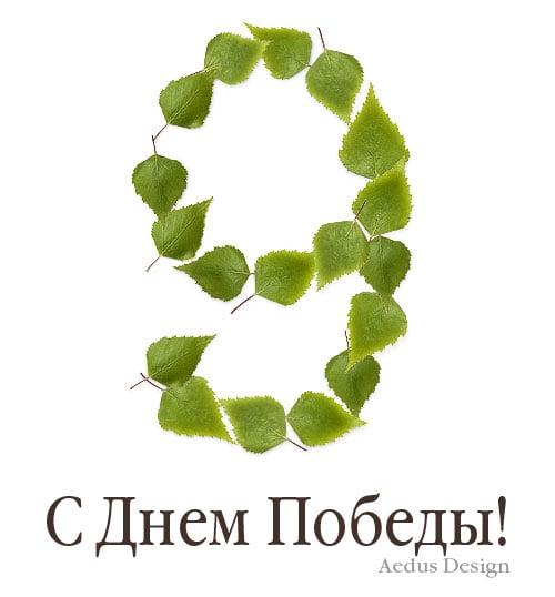 открытка к 9 мая березовые листья – Новости студии дизайна «Aedus Design»