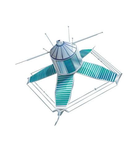 рисунок спутника для сайта – Новости студии дизайна «Aedus Design»