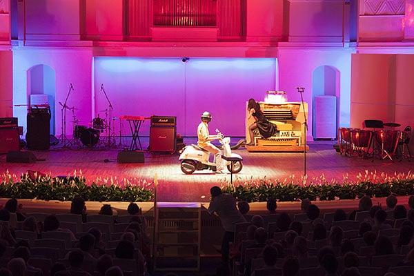 органный концерт Римские каникулы зал им. Чайковского