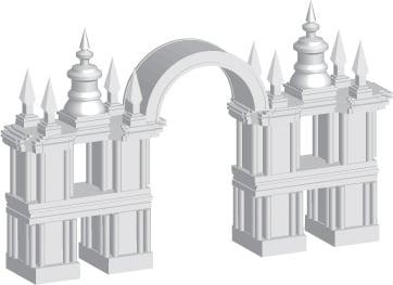 иконка достопримечательности - Царицыно – Новости студии дизайна «Aedus Design»