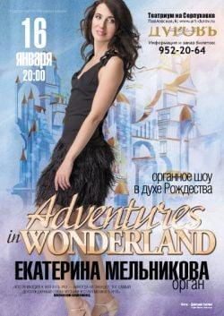 Adventures in Wonderland - Рождество звучит вместе с органом – Новости студии дизайна «Aedus Design»