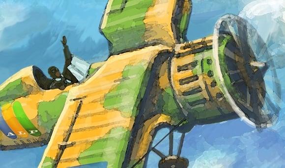 самолет И 153 рисунок – Новости студии дизайна «Aedus Design»
