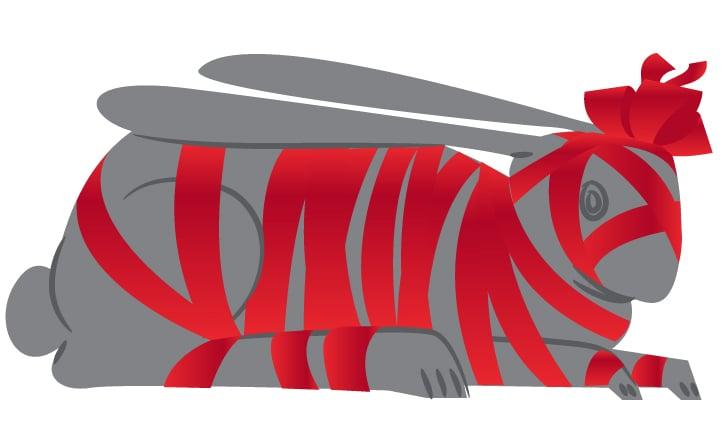 это не заяц несудьбы. это просто заяц! – Новости студии дизайна «Aedus Design»
