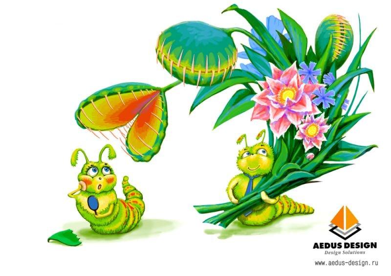 открытка 8 марта  – Новости студии дизайна «Aedus Design»
