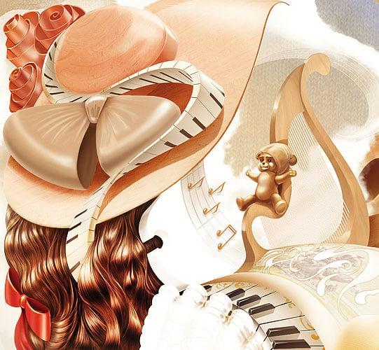 Иллюстрация для каталога в разделе «Иллюстрации» портфолио дизайн-студии «Aedus Design»