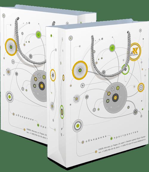 Пакеты «РК Телеком» в разделе «Разное» портфолио дизайн-студии «Aedus Design»