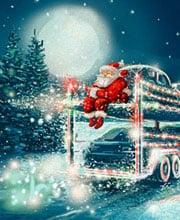 Иллюстрация для новогодней открытки