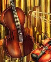 Рисунок музыкальных инструментов