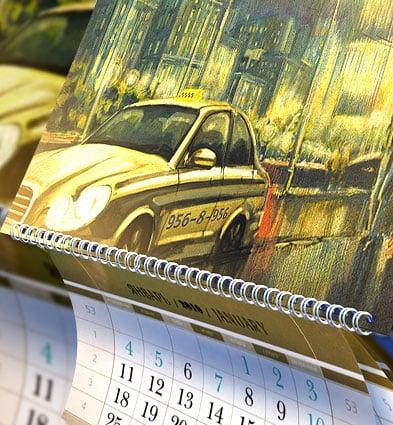 Новогодняя календарная продукция
