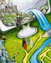 Иллюстрация для календаря ALP