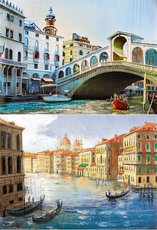 Серия иллюстраций «Ceccato» в разделе «Иллюстрации» портфолио дизайн-студии «Aedus Design»