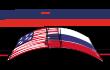 Логотип «US~RUSSIA, Bilateral Presidential Commision», клиент дизайн-студии «Aedus Design»