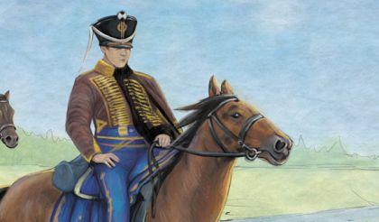 рисунок кони. фрагмент