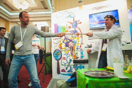 рисунки для выставки SAP Forum Moscow