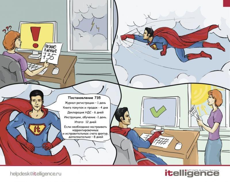 комикс для IT компании – Новости студии дизайна «Aedus Design»