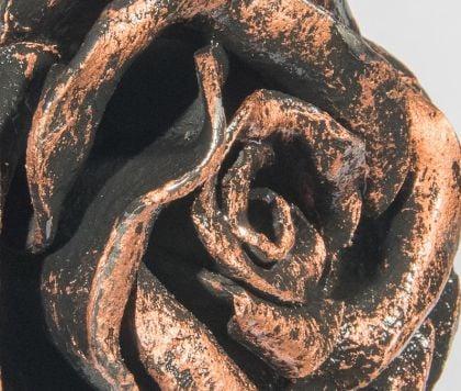 фотография кованой розы