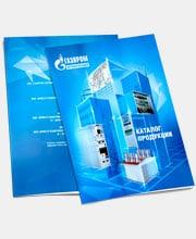 Каталог «Газпром Автоматизация» в портфолио студии дизайна «Aedus Design»