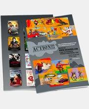 Буклет студии трюковых съемок «Varvara-Stunt»