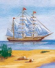 Иллюстрация для праздничной открытки «Itelligence»