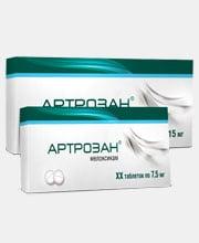 Упаковка лекарства «Артрозан» в портфолио студии дизайна «Aedus Design»
