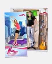Постеры «Anta»
