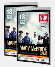 Афиши концерта в Москве в туре Mary McBride BAND.