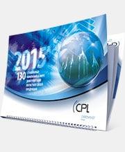Квартальный календарь «Cartonplast Group»