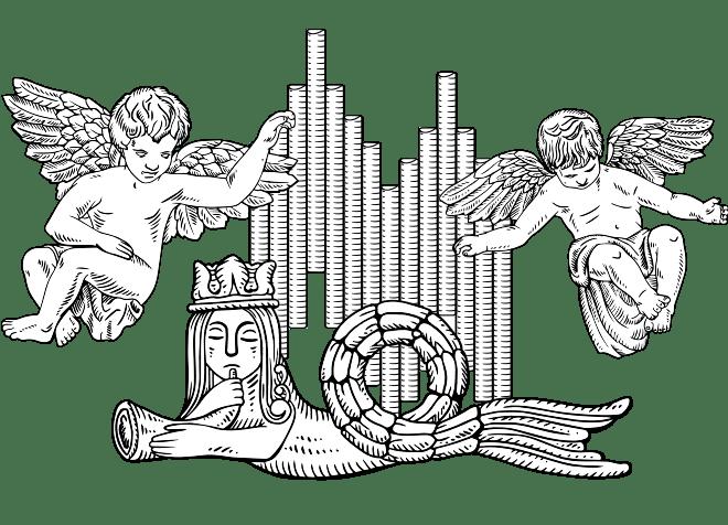 Иллюстрации знаковых архитектурных элементов Кафедрального Собора в стиле гравюры в разделе «Иллюстрации» портфолио дизайн-студии «Aedus Design»