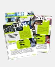 Промо-листовки «Окно-ТВ» в портфолио студии дизайна «Aedus Design»
