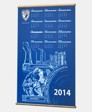 Календарь «Чайковский Текстиль»