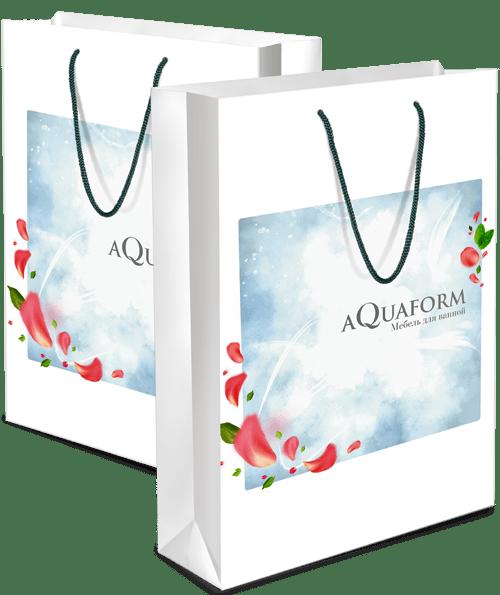 Пакет «Aquaform» в разделе «Разное» портфолио дизайн-студии «Aedus Design»