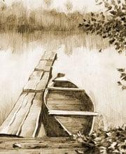 Иллюстрация для сайта «Офорт»