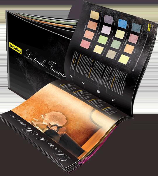 Брошюра «Прованс-Деко» в разделе «Брошюры, каталоги» портфолио дизайн-студии «Aedus Design»