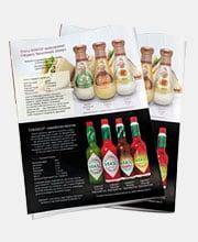 Рекламный модуль соусов «Кинто» и «Tabasco»