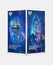 Роллапы «Чайковский текстиль» для ОАО «Газпром»