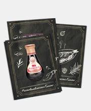 Листовки бренда «Кинто» для мастер-класса «Kulinaryon» в портфолио студии дизайна «Aedus Design»