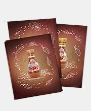 Серия листовок бренда «Кинто»