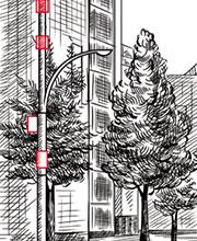 Иллюстрации для настенного календаря «Русские башни»