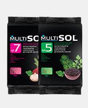 Дизайн серии упаковок специализированной соли «MultiSOL»