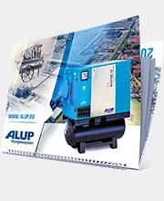 Перекидной календарь «ALUP Compressoren»