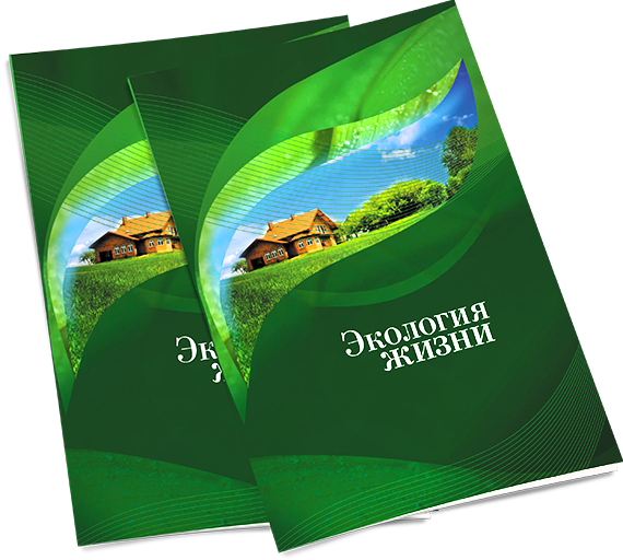 Буклет поселка Юхново – «Экология жизни» в разделе «Брошюры, каталоги» портфолио дизайн-студии «Aedus Design»