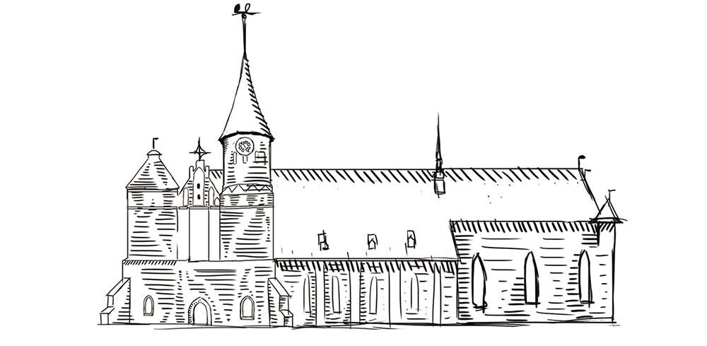 Изображение: Еще один альтернативный рисунок Кафедрального Собора