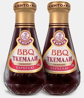 Дизайн этикеток «BBQ Ткемали» Кинто